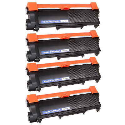 4PK NEW HIGH QUALITY Compatible TN660 TN630 High Yield Black Toner Cartridge