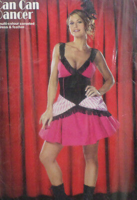 Can Can Dancer Halloween Costume Adult Womens Size Small by Cinema Secrets
