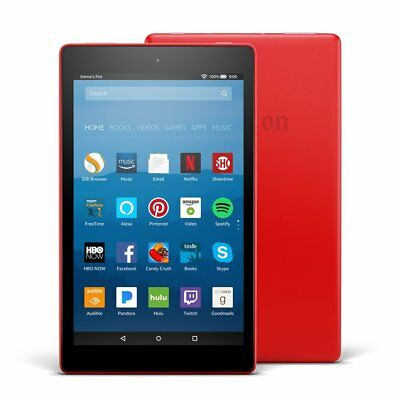 Amazon Fire HD 8 (7th Generation) 16GB, Wi-Fi, 8In Punch Red with Special Offers