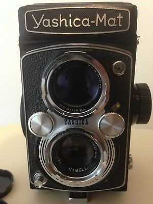 Yashica Mat TLR Medium Format Camera Working Vintage