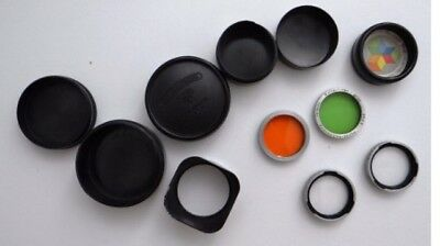 Genuine Rolleiflex  Bay Lens Hood Filters & More
