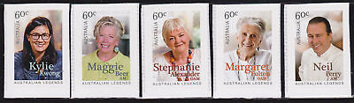 Mint 2014 Australian Legends Cooking P & S Stamp Booklet Set Muh Fulton,perry