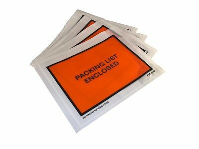 "100 - 4.5"" x 5.5"" Packing List Enclosed Adhesive Envelopes 4 1/2"" x 5 1/2"""