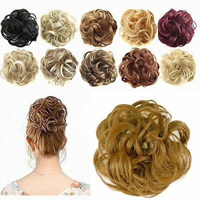 Ponytail Extensions Hair Extensions Wavy Curly Hairpiece Donut Hair