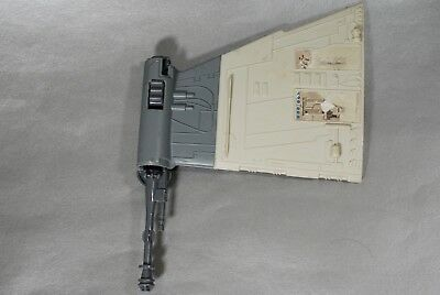 "VINTAGE STAR WARS B-WING FIGHTER ""B"" WING & GUN PART KENNER laser cannon"