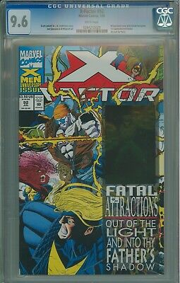 CGC 9.6 X-Factor 92 1st appearance of Exodus 0244253020 @Timeless icons