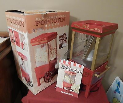 NIB Nostalgia Electrics OFP-501 Vintage Collection Hot Air Popcorn Maker