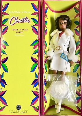 Barbie Christie Red White 'n Warm Repro New