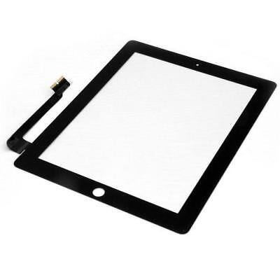 Black Touch Screen Outer Glass Digitizer Replacement for Apple iPad 3 & 4 Tools