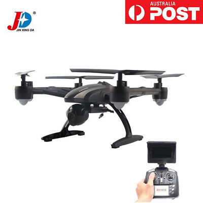 FPV Drone RC Quadcopter Helicopter 5.8GHz 4CH 2.0MP Camera High JXD 509G