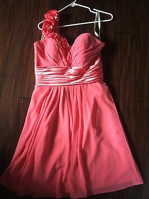 BILL LEVKOFF WOMENS Formal Dress, Size 10, Coral Color - $20.99 ...