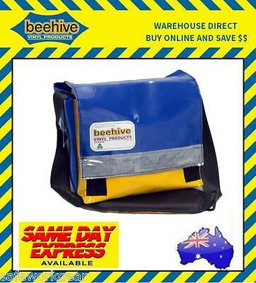 Beehive QNI Short Heavy Duty Vinyl Tool Bag Work Equipment Gear Storage