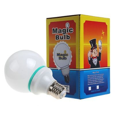 Deluxe Magic Light Bulb Addams Family Uncle Fester Trick Costume LED White -AU