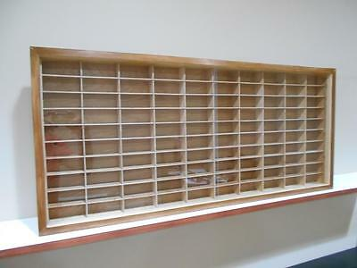 Showcase, Wall Display Case Cabinet For 1/64 Scale Cars (hot Wheels,