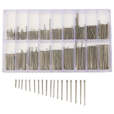 360PCS 8-25mm Stainless Steel Watch Strap Band Link Cotter Pins Spring Bar I7V3