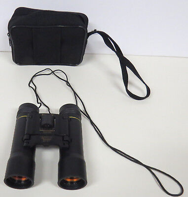 Tasco SONOMA 10 X 25 mm Compact Binoculars -fully coated optic  with case. Black