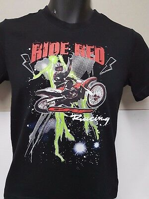 Honda Ride Red Kids T-Shirts Limited Sizes Left Genuine Honda Product