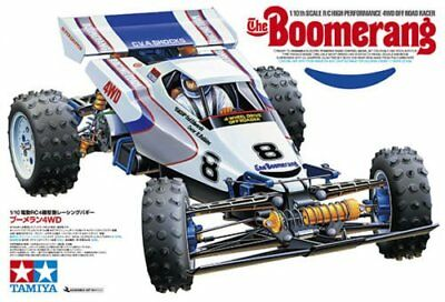 Tamiya 58418 1/10 RC 4WD Off Road Buggy The Boomerang (2008) Re-Release Car Kit