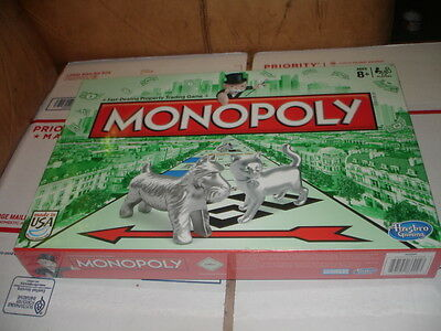 Monopoly Board Game 2014 Edition with Cat Token NEW SEALED NEVER OPENED