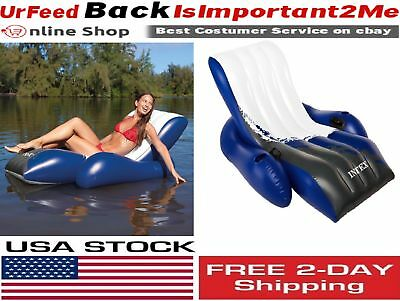 Intex Floating Recliner Lounge Swimming Pool Chair Inflatable Outdoor C& Seat  sc 1 st  PicClick & Intex Floating Recliner Lounge Swimming Pool Chair Inflatable ... islam-shia.org