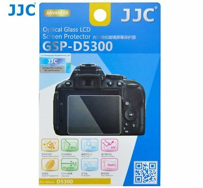 JJC GSP-D5300 Thin Optica Glass LCD Screen Cover Protector for Nikon D5600 D5500