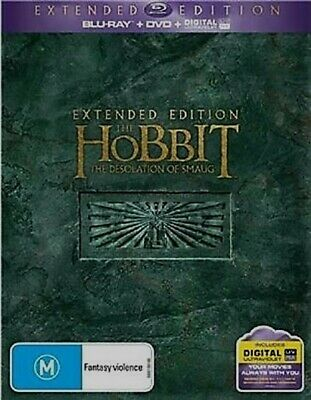 The Hobbit: The Desolation of Smaug (Extended Edition) Blu-Ray Region B