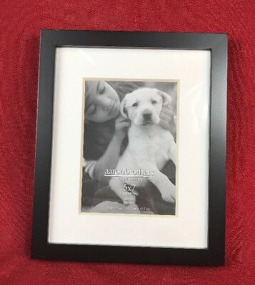 AARON BROTHERS BLACK Wood 5x7 Frame New In Box - $6.99 | PicClick