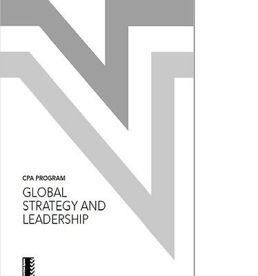 CPA PROGRAM Global Strategy and Leadership , PDF Version (with MCQ & Extras)