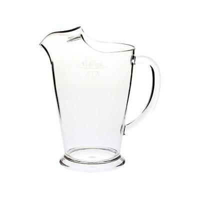 12 x Polycarbonate Plastic Beer Jug Pitcher Pub Bar 1140ml MARKED W&M Approved