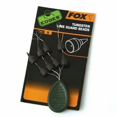 Fox Edges Tungsten Lineguard Beads Chod Heli Carp Rig Montage CAC671 Vorfach