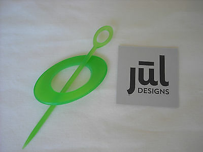 JUL Designs Oval Resin Shawl Pin