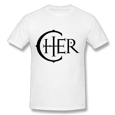 Cher 2017 Logo White T-Shirt (XXL) Brand New!