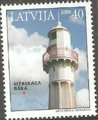 2006   Latvia  -  Sg  683  - Lighthouse -  Umm