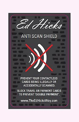 2 * RFID Blocking Wallet Cards – Better than a Sleeve. Protect your Credit Card