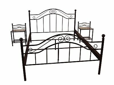 antik ehebett doppel bett nachttisch chippendale jugendstil abholung 74889 eur 33 00 picclick de. Black Bedroom Furniture Sets. Home Design Ideas
