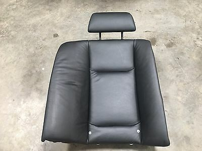 Bmw 7 Series E65 Rear Seat Back Offside Right Black Leather 7123328
