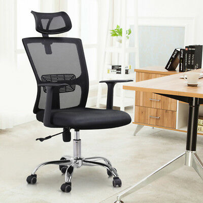 Large High Back Mesh Office Desk Chair Swivel Computer Task Chair Adjustable