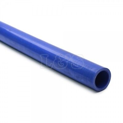 38 mm Blue Silicone Hose x 1 metre