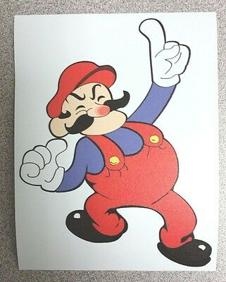 Mario/Donkey Kong Version sticker. 3.75 x 4.75.  (Buy 3 stickers, GET ONE FREE!)