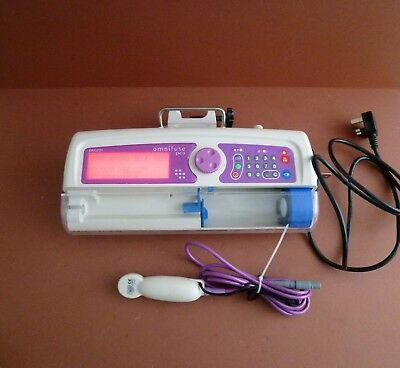 Graseby Omnifuse Pca Syringe Iv Infusion Pump Driver Administration Therapy