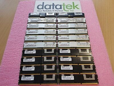 JOB LOT 20x 8GB PC2-5300F SERVER MEMORY - MIXED MANUFACTURER / SOME IBM BRANDED