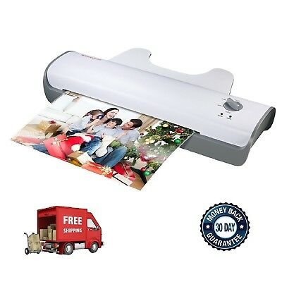 "Scotch Thermal Laminator 2 Roller System 13"" Document Photo Laminating Machine"