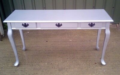 FREE LOCAL DELIVERY, Silver Queen Anne Style Table, Side Table, Hall Table