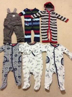 SPROUT Boys Size 000 & 00 Clothing Coveralls One Piece In Excellent Condition