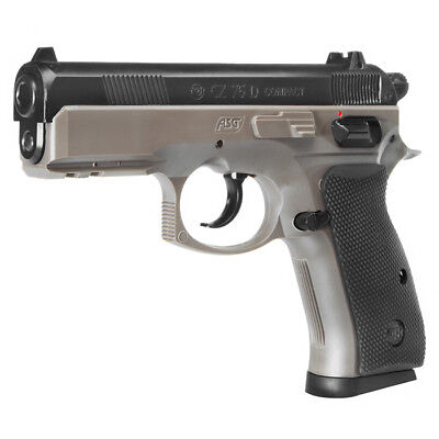 ASG CZ 75D Compact Heavy Weight Springer 6mm BB Dual-Tone FDE Softair Airsoft