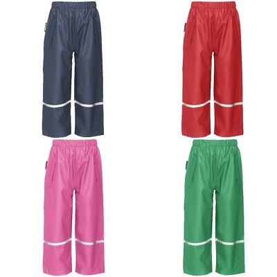 Playshoes Trousers Rain Pants Waterproofs Easy Fit - Various Sizes & Colours