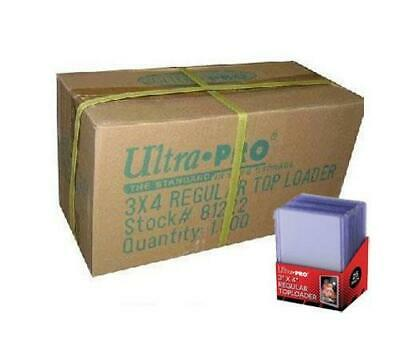 1000 Ultra Pro Regular 3x4 Toploaders sealed case Brand New top loaders