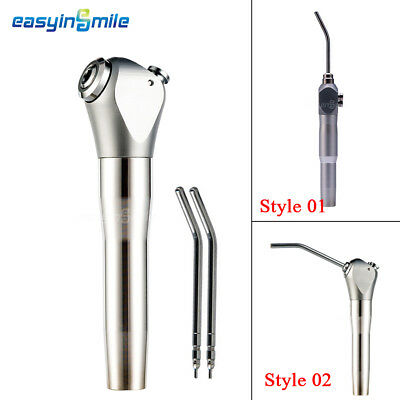 EASYINSMILE New 3 Way Syringe Dental Air Water Spray-1 Handpiece with 2 Nozzles