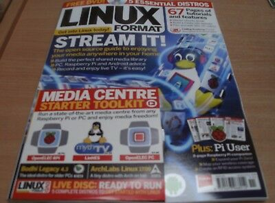 Linux Format magazine Nov 2017 Media Streaming PC, Raspberry Pi & Android Advice