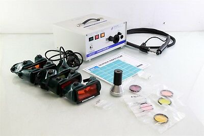 Mason Vactron Quaser 2000/30 Forensic Light Source + Goggles